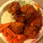 Fried Buffalo Chicken Cut Up Parts (Instead of Wings)