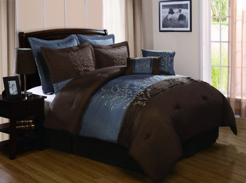 What Paint Color Goes With Chocolate Brown Bedding