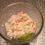 Evelyn's Fresh Summer Seafood Salad