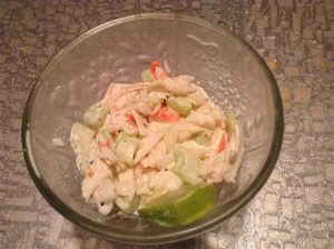 Evelyn's Fresh Summer Seafood Salad