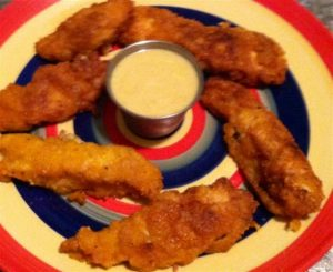 Evelyn's Sweet and Crunchy Chicken Fingers
