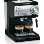 Hamilton Beach Espresso and Cappuccino machine.