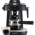 Krups cappuccino machine.