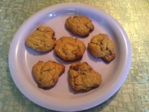 Homemade Chocolate Chip Cookies with Stevia