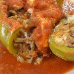 Stuffed Green Peppers Recipe