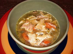 Easy Homemade Chicken Noodle Soup for Fall