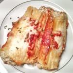 Dad's Manicotti Recipe