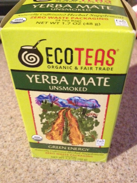 Yerba Mate Unsmoked Green Energy Tea