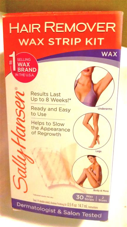 Salley Hansen Wax Strips