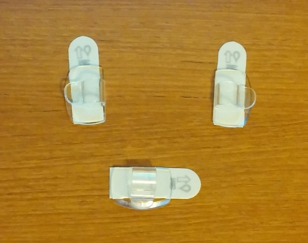 Light Clips with Command Strips