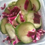 Summer Salad Ideas: Cool Cucumber and Red Cabbage Salad