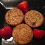 Healthy Homemade Strawberry Banana Muffins