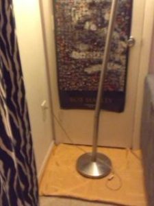 How to Fix Your Leaning Floor Lamp