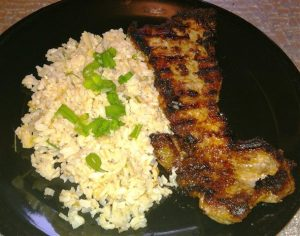 Asian-Inspired Pork with Brown Rice