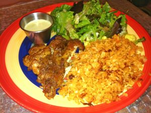 Peruvian Roasted Chicken with Dipping Sauce
