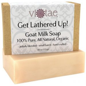 3 Natural Soaps: Oatmeal, Goat's Milk & Shea Soap