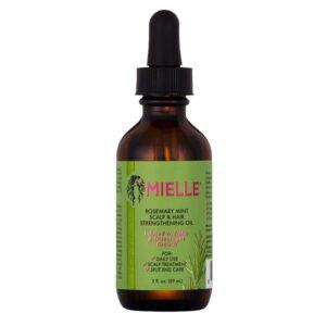 Light, Lovely Smelling Hair Rejuvenating Oil: Mielle Organics Rosemary Mint Scalp & Hair Strengthening Oil